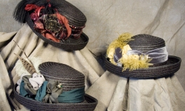 small-black-upturn-straw-hats